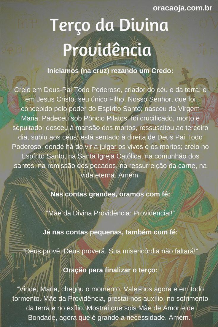 Terço da Divina Providência #terço #divinaprovidencia