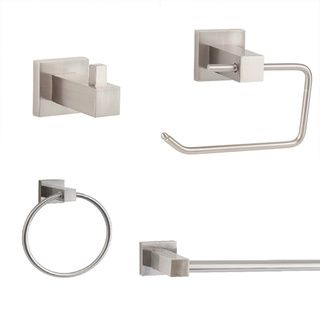 Sure Loc Modern 4 Piece Bathroom Accessory Set By Sure Loc