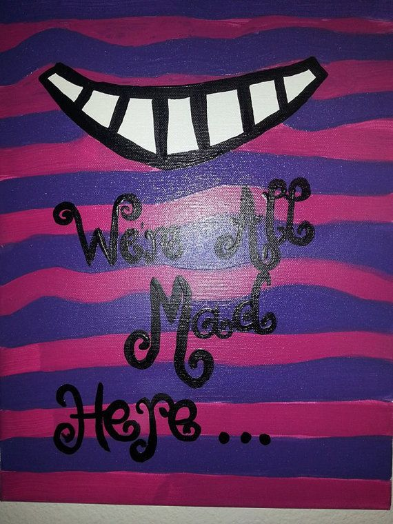 Quotes On Canvases By ConfectionsClothing Etsy 1500 Create CanvasCanvas DesignsCanvas IdeasPainting ArtDisney