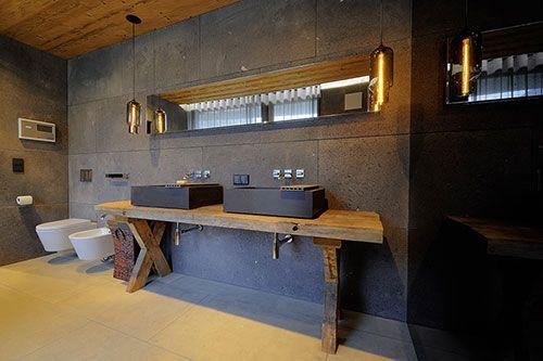 Luxe badkamer van Chalet in Oostenrijk