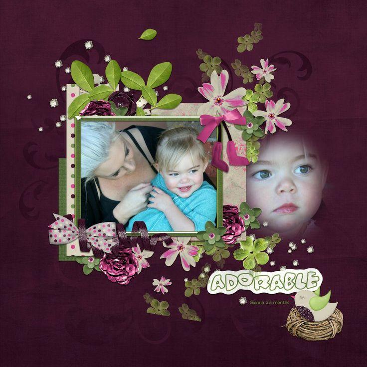Sienna and mummy