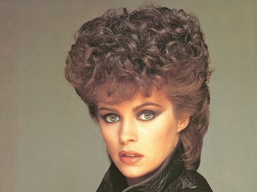 80s permed mullet | I think Mum had her hair like this befor… | Flickr