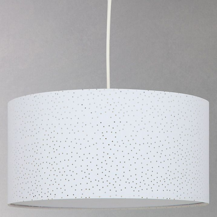 Buy John Lewis Easy-to-fit Alice Starry Sky Ceiling Shade, White Online at johnlewis.com