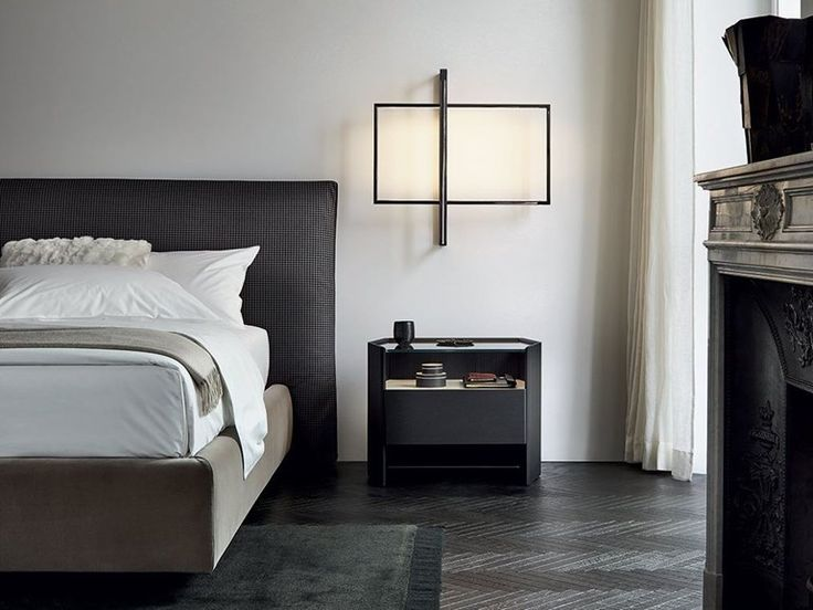 Caroti mobili ~ Grace leather bedside table by caroti design ni ko design