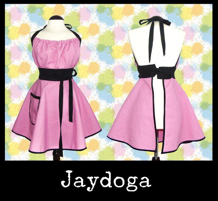 Delantales Vintage Jaydoga, elegantes, divertidos y originales! Delantal vintage Pretty in Pink