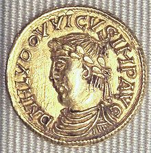 Husband's ancestor, Louis the Pious, Emperor of Rome.