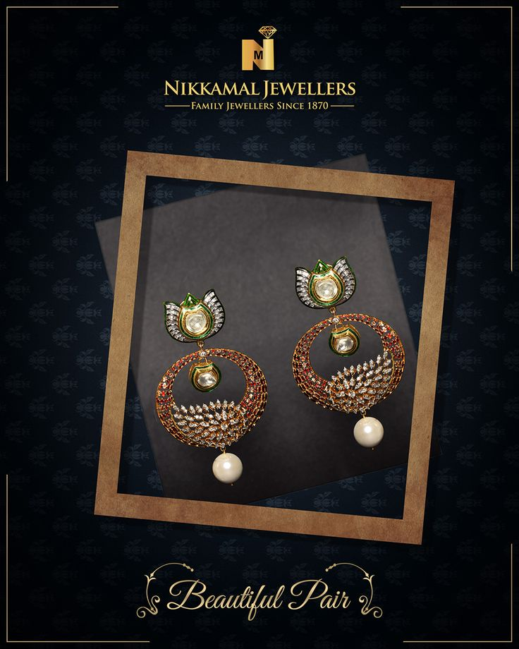 A Beautiful Pair Of Earrings Just For You Wide Range
