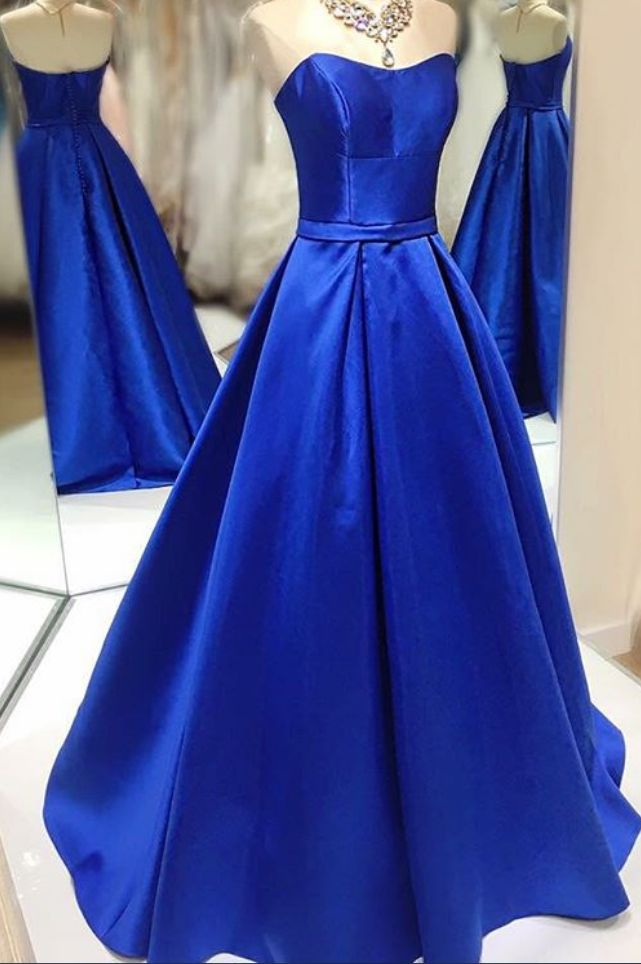 Charming Prom Dress,Long Prom Dresses,Dark Blue Evening Dress,New Arrival Prom Dress,Simple Evening Gowns,