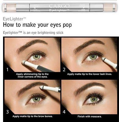 How to make your eyes pop or look bigger: Fashion, Make Up, Eye Makeup, Late Night, Bright Eye, Makeup Tricks, Make Eye Pop, Eyeshadows, Eyemakeup