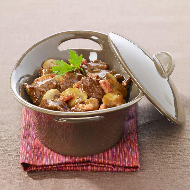Découvrez la recette du boeuf bourguignon traditionnel
