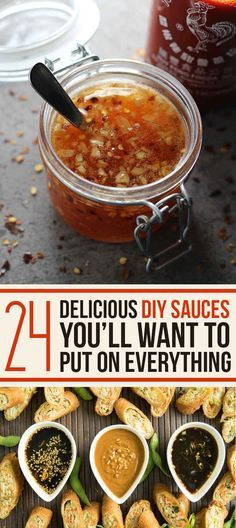 24 Delicious DIY Sauces You'll Want To Put On Everything. Must try sun dried tomato pesto, and salmon marinade