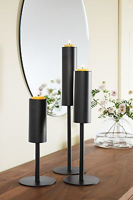 Lucent Steel Votive Candle Holders - Modern Gift Ideas - Modern Home Accessories - Room & Board