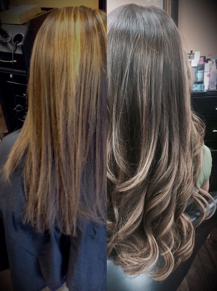 Before and After Hair Extensions Using 100% Human Remy Hair #greatlengths #babehairextnsions #ShebySOCAP