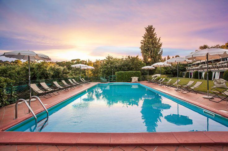 la piscina esterna - outdoor pool