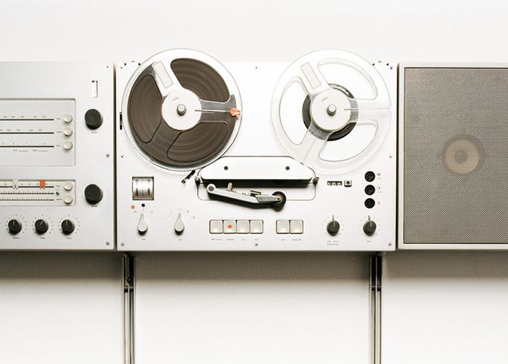 Reel to reel player: Dieter Rams, Decks Design, Ate, Image, Collage, Products Design, Industrial Design, Design Object, Crafts