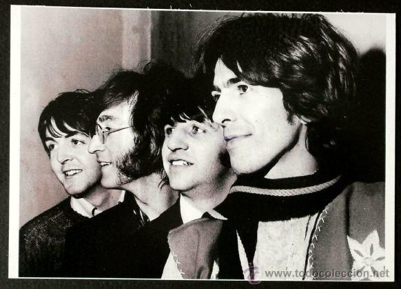 THE BEATLES - FOTO POSTAL - CALIDAD FOTOGRAFICA - B/N - Tamaño: 10,5 X 15 CM / The Beatles en todocoleccion