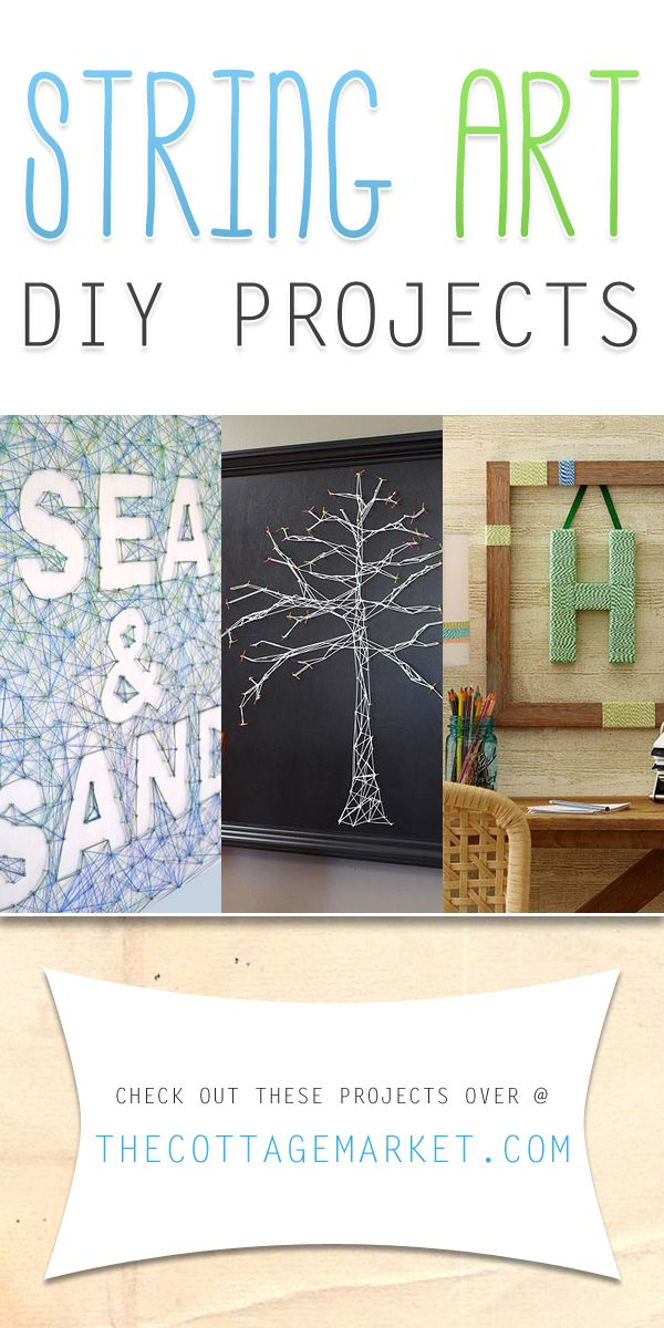 String Art DIY Projects - The Cottage Market