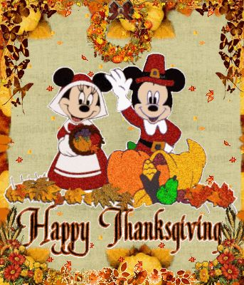 Mickey & Minnie Thanksgiving quote autumn fall thanks list grateful blessing thankful thanksgiving holidays poem