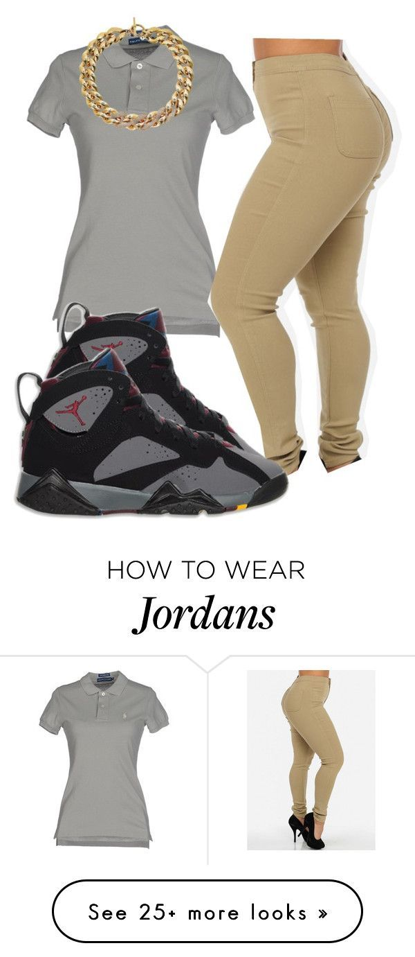 """Air Jordan 7 Collection"" by trillest-boss on Polyvore featuring Ralph Lauren, Retrò and Michael Kors"