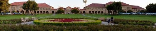 The front of Stanford University in Palo Alto, Santa Clara County, California, USA Poster Print (5 x 24)
