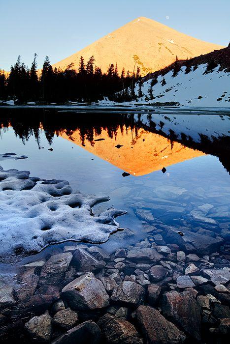 Pyramid Peak, Great Basin National Park, Nevada; photo by Michael Greene