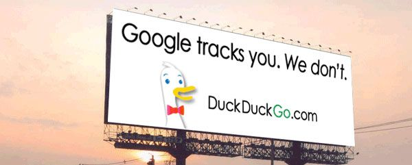 if you don't want your personal searches tracked and reported, use duckduckgo.com for your searches instead.