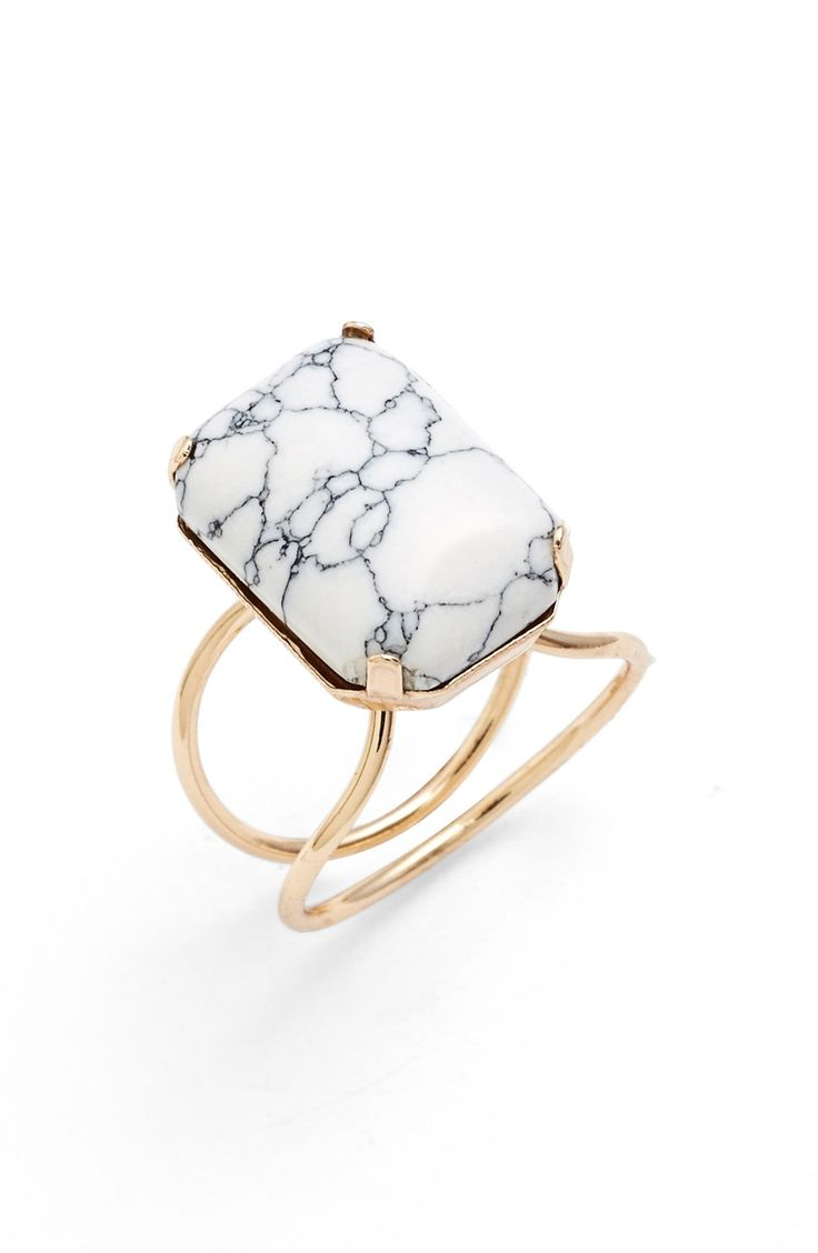 BP. Marbled Stone Ring
