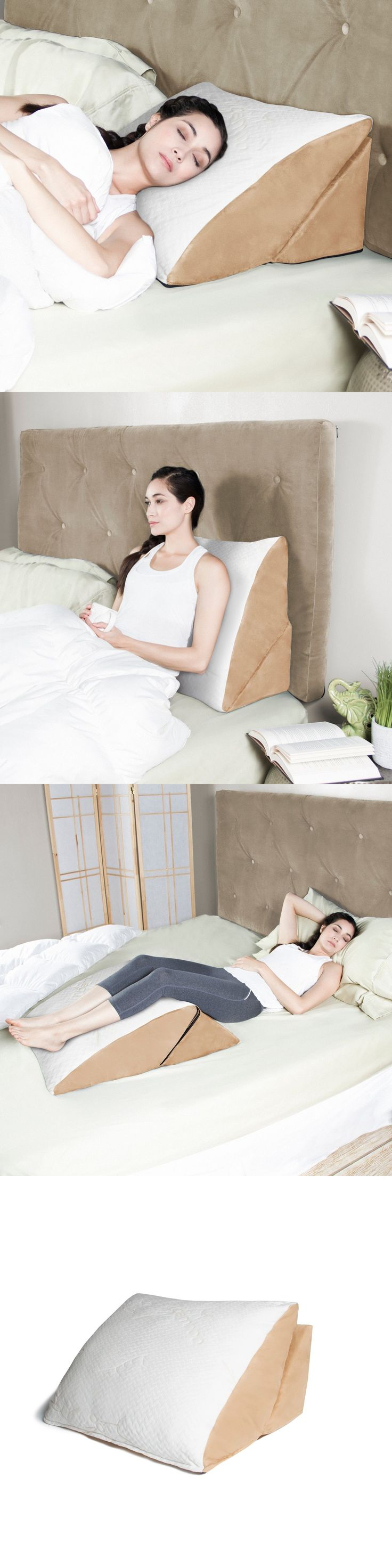 Bed wedge for legs - Wedges And Bed Positioners Avana 4 In 1 Flip Pillow Convertible Bed Wedge