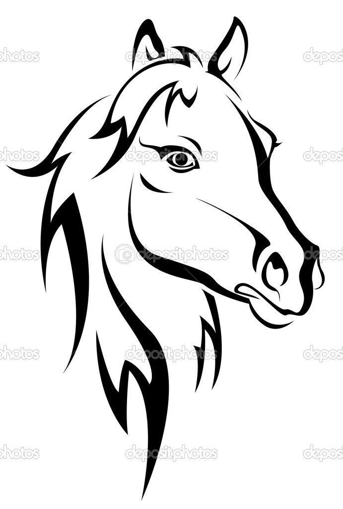 silhouet paard - Google zoeken