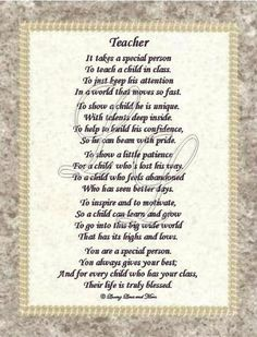 farewell poems for teachers - Google Search
