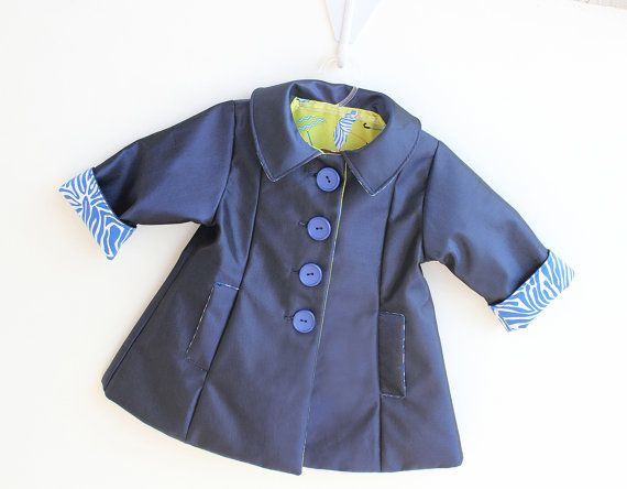☂☂ Practically PERFECT in every way!! It's the reversible MARY POP Jacket or Raincoat (TODAY with POP Bow Tie) for witty girls!! Baby Girls and Girls 0