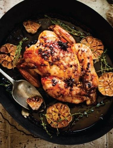 Orange Glazed Chicken from Sweet Paul Magazine - Fall 2012