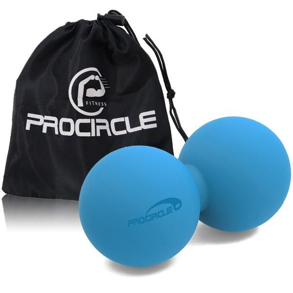 ProCircle Therapy Massage Ball with FREE Bag Description: High-Density Massage Tool for Deep Tissue, Myofascial Release, Muscle Relax, Acupoint Massage