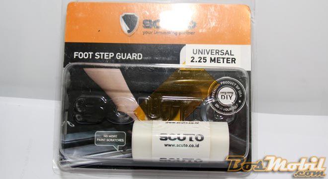 Scuto Foot Step Guard #BosMobil