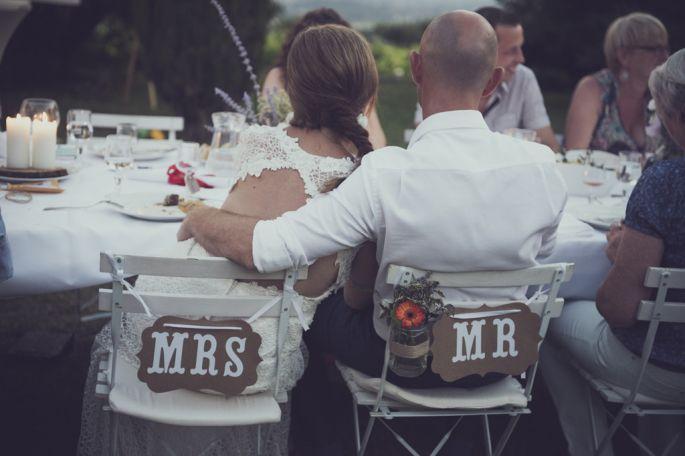 Le jeu des ressemblances ! Une super idée de jeu de mariage qui sort du lot ! Encore plus droles si les mariés s'affrontent pour savoir qui ouvrira le bal avec son parent par exemple !