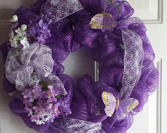 Purple wreath - Paarse Krans