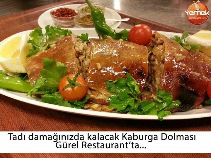 Kaburga  dolması Gürel Restoran DENİZLİ