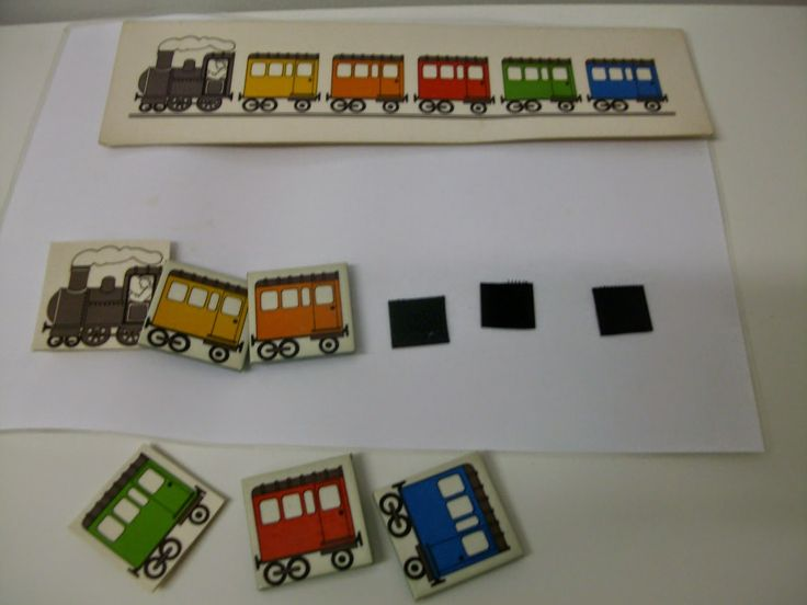 Suivi de modèle de couleurs: le train