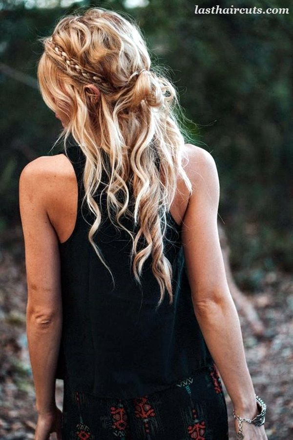 45 Trendiest Bohemian Hairstyles for Women - 34 #LongHaircuts