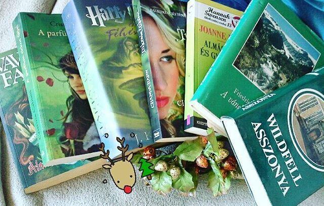 8. Zöld könyvek #januárikönyveskihívás #gwwbkihivas #bookstagram #greenbooks Pedig azt hittem, nincs is zöld könyvem...aztán mégis. Vavyan Fable: Álmok tengere Cristina Caboni: A parfüm titkos útjai J.K.Rowling: Harry Potter és a félvér herceg Chanda Hahn: Tükröm, tükröm Joanne Fluke: Almáslevél és gyilkosság Friedrich Nietzsche: A vándor és árnyéka Anne Brontë: Wildfell asszonya