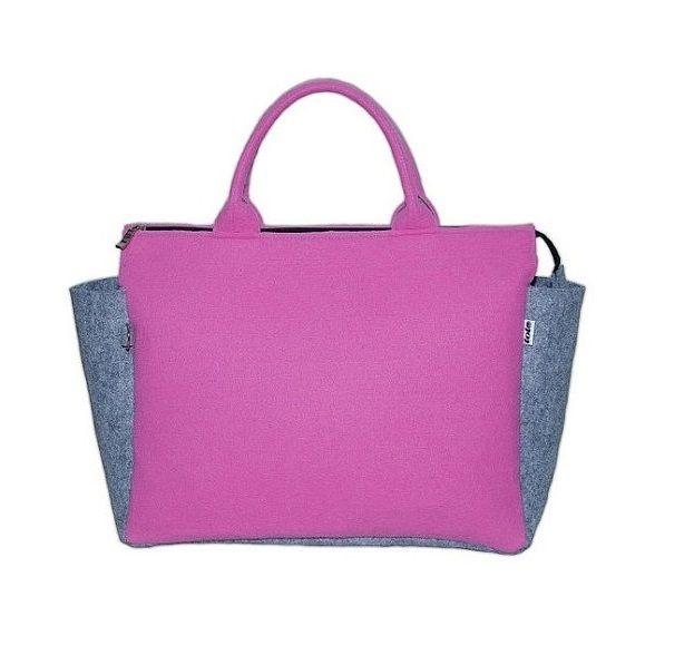 G-Felt elegancka torba do ręki róż  from totostyle by DaWanda.com