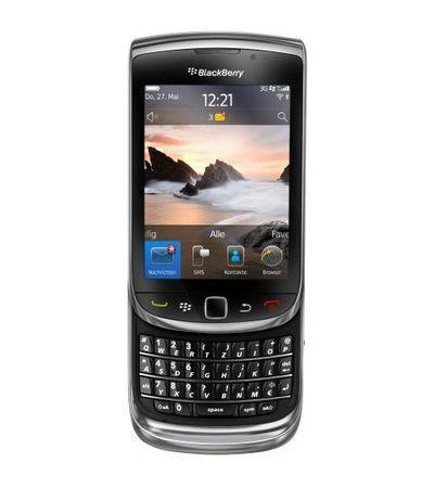 Blackberry Torch 9800 von RIM: Wandlung vom Business-Handy zum Smartphone mit stimmigem Gesamtpaket