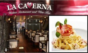 Pay only €15 for any TWO Pastas or Pizzas at La Caverna, Temple Bar!!