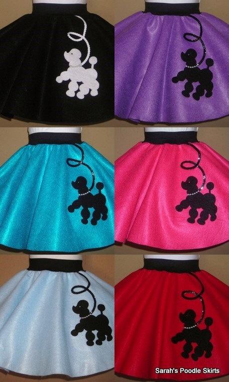 Toddler Prancing Poodle Skirt