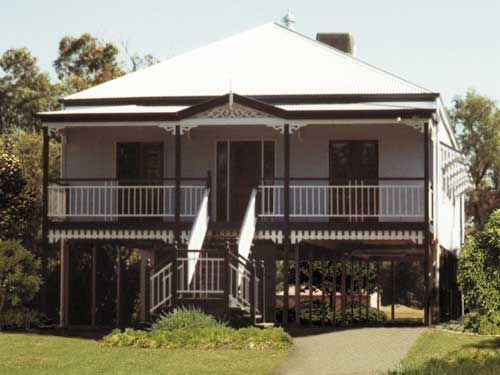 Large terrace style cottages built in the early 1900s