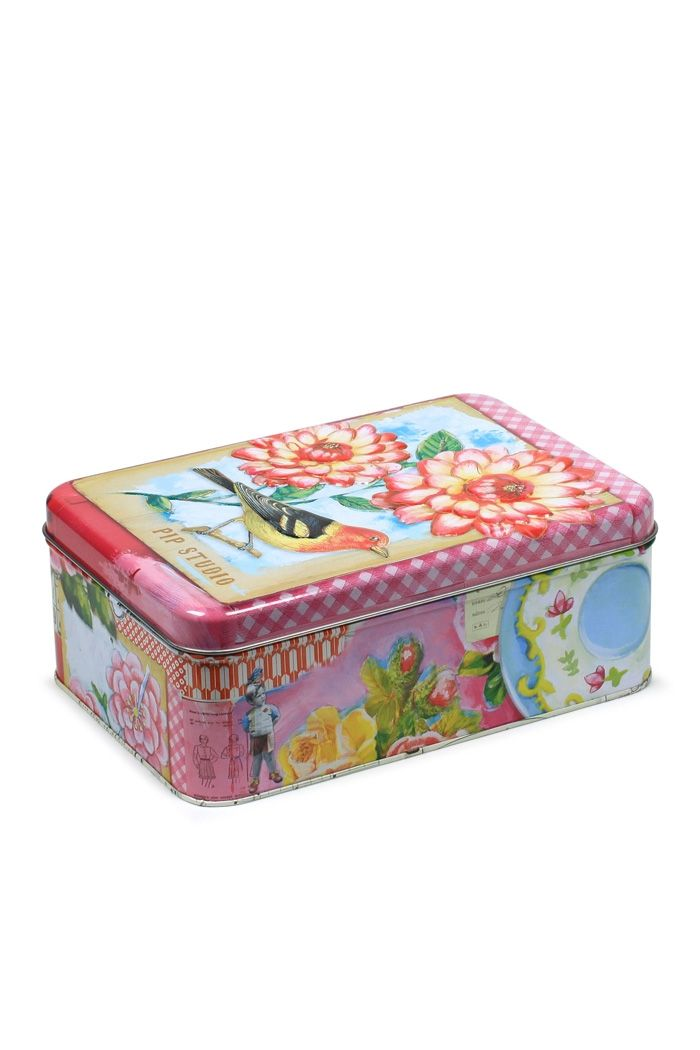 Pip Tin Box Small Collection Tins Pinterest Tin