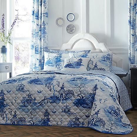 Chinoiserie Bedspread