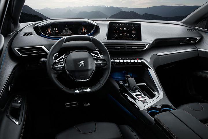 """L'interieur du Peugeot 3008 a été élu """"Plus bel intérieur de l'année"""""""