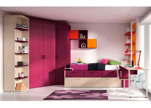 M s de 25 ideas incre bles sobre dormitorios juveniles - Dormitorios juveniles ninas ...
