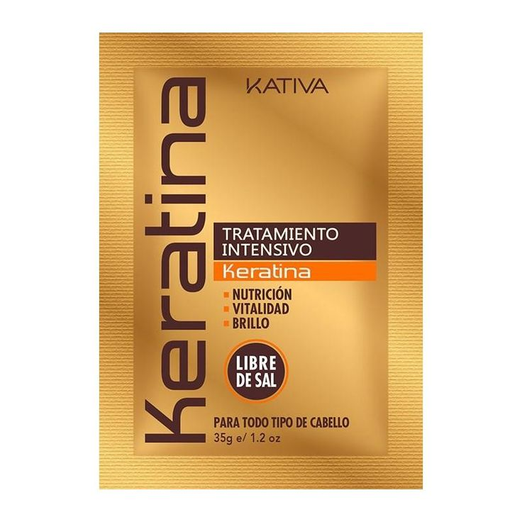 Acondicionador de Keratina Kativa Natural protege tu cabello de agresiones diarias que destruyen la keratina natural del cabello.